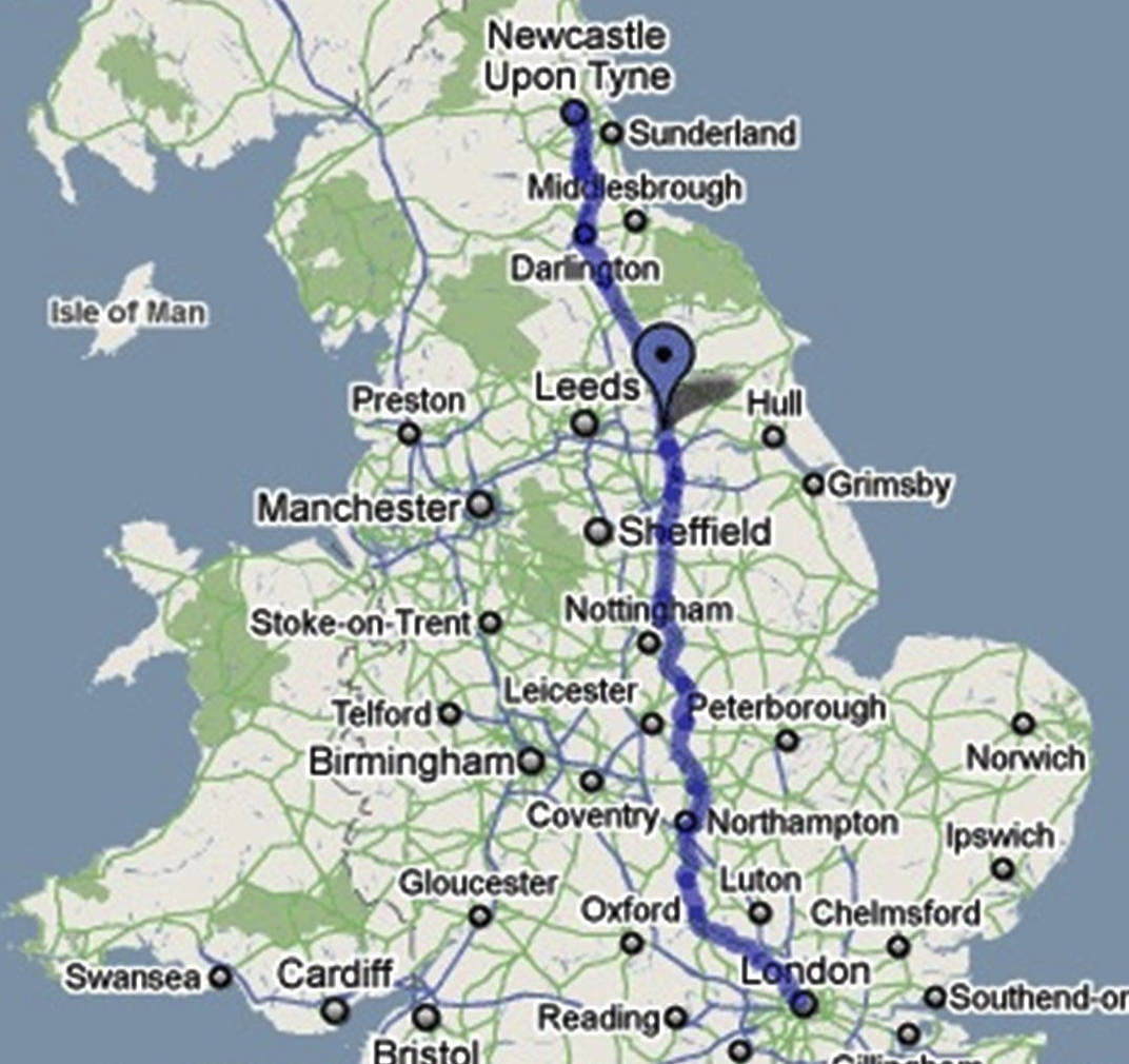 Car Share London To Newcastle upon Tyne With LiftGrabber