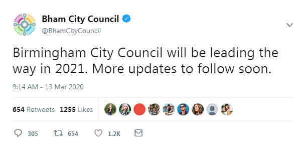 New tweet